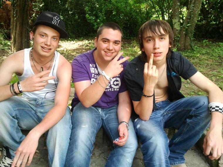 Moi et 2 amis !!