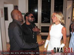 Ferre Gola au Trophées Afro Caribéens en France