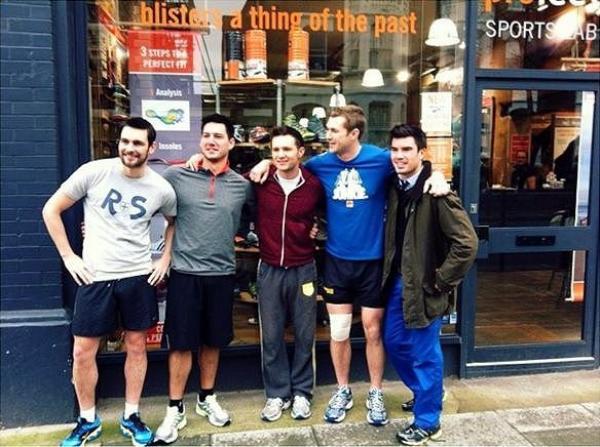 Photos : Harry participera au grand marathon de Londres.