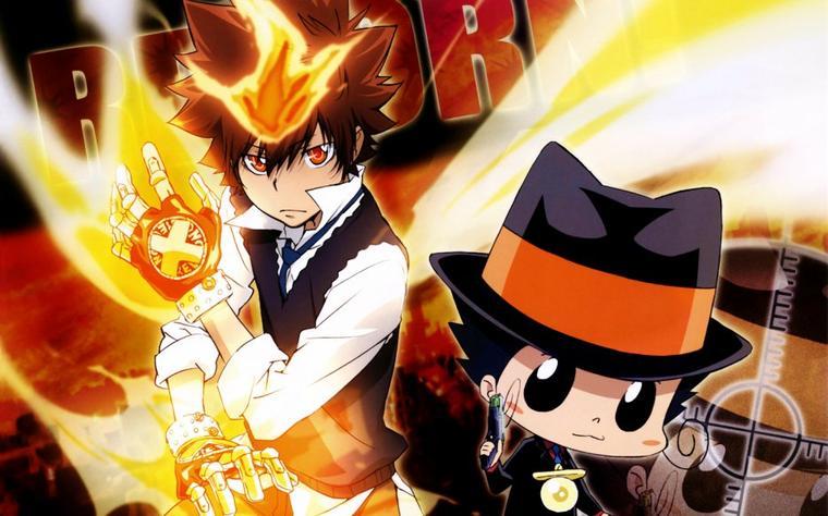 """L'anime """"Reborn!"""" Mon prof le tueur *0* ^^"""