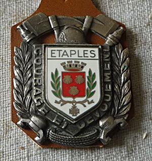 INSIGNES DE ETAPLES ET ST OMER  62