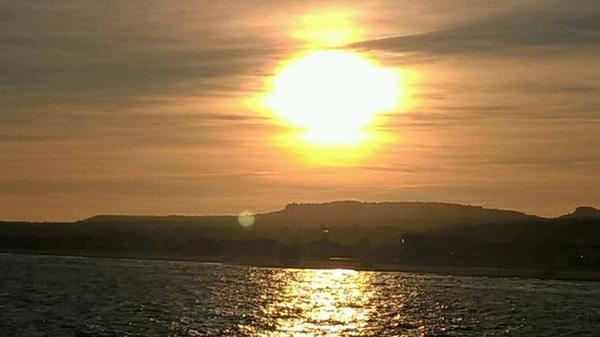 Coucher de soleil à Narbonne