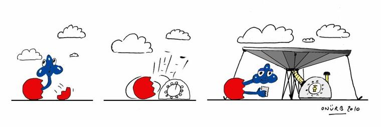 EGGGY versus CLOUD A little thirsty!
