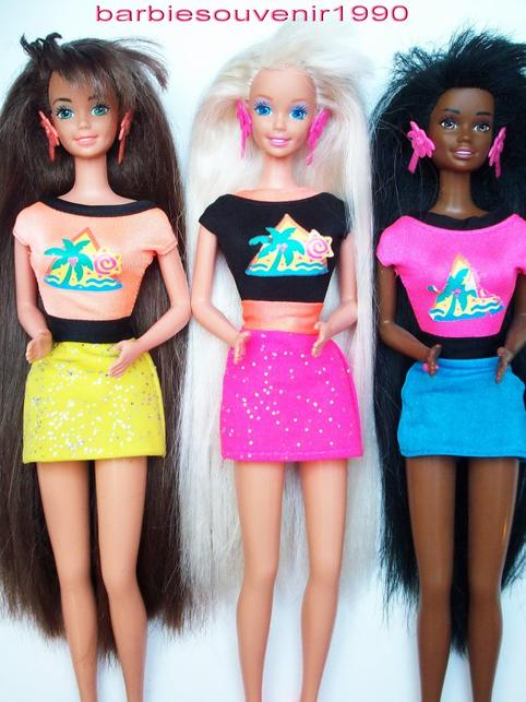 Barbie glitter hair 1994