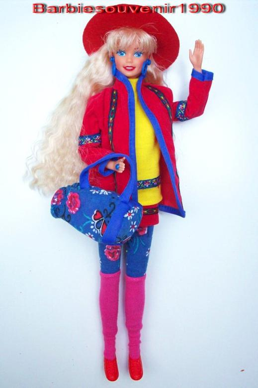 Barbie benetton 1991