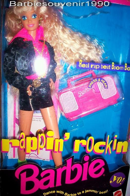 Barbie rappin rockin 1992