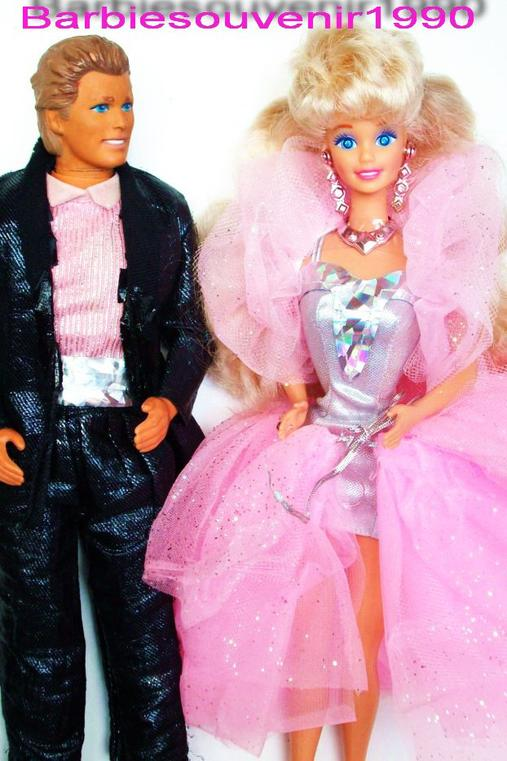 Barbie sparkle eyes 1992