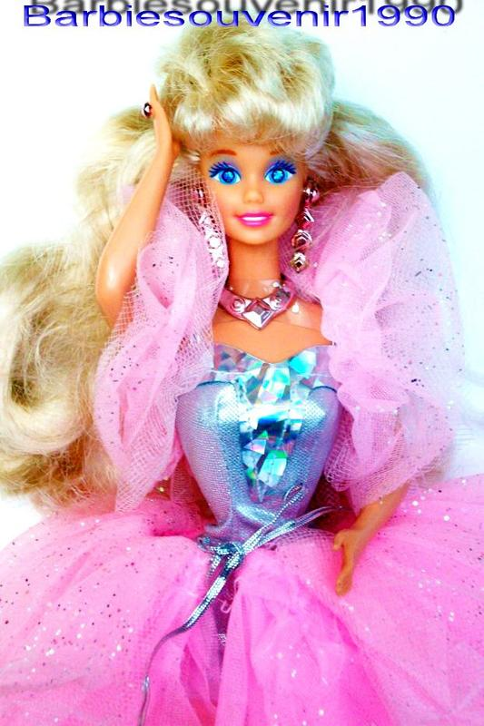 Barbie sparkle eyes 1992