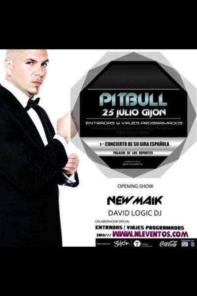 NewMaik avec Pitbull