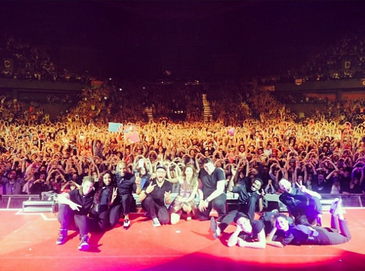 A l'infini Tour - Pau/Bordeaux/Toulouse - le 8/9/11 Avril 2014