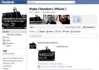 REJOINS PSYKO L'INSOLENT SUR FACEBOOK