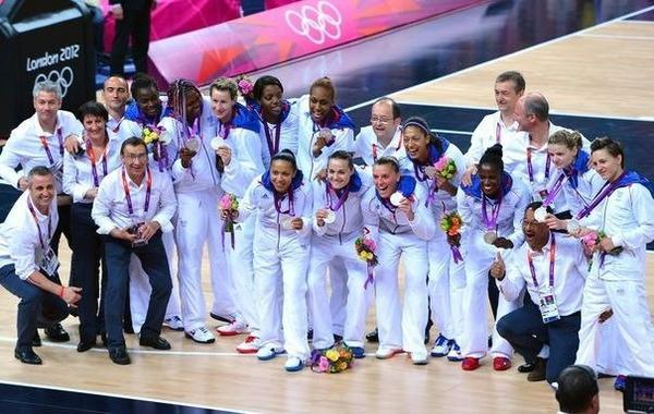 Equipe de France Féminine de Basket AU JO.