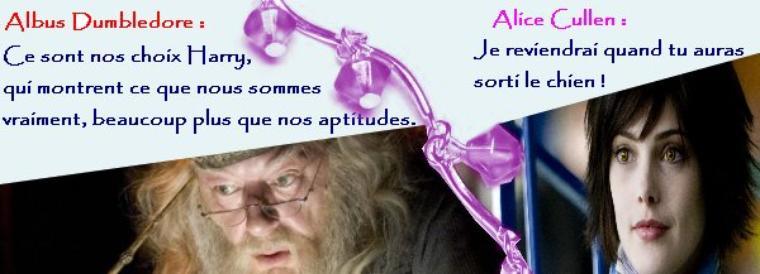 Espace Citations sur Twilight et Harry Potter