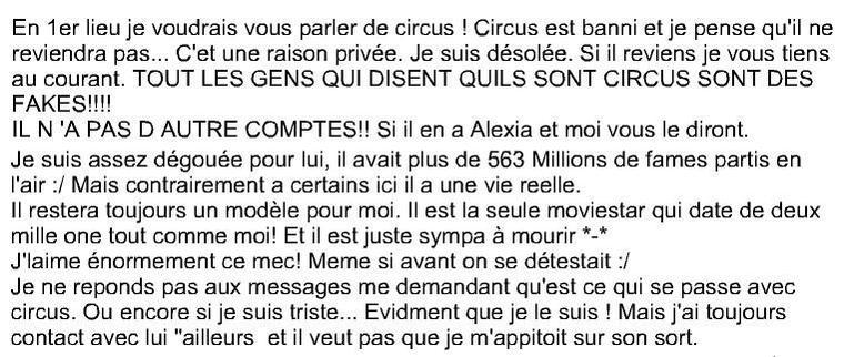 L'Artbook De Yoline Sur Circus