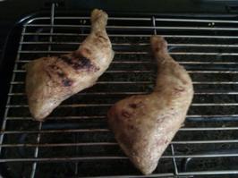 Recette : Cuisses de poulet au Barbecue (Chrononutriton Midi ou Soir)