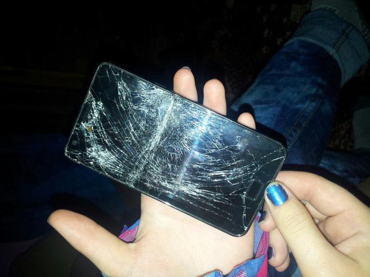 Qui avais deja casser le phone ??