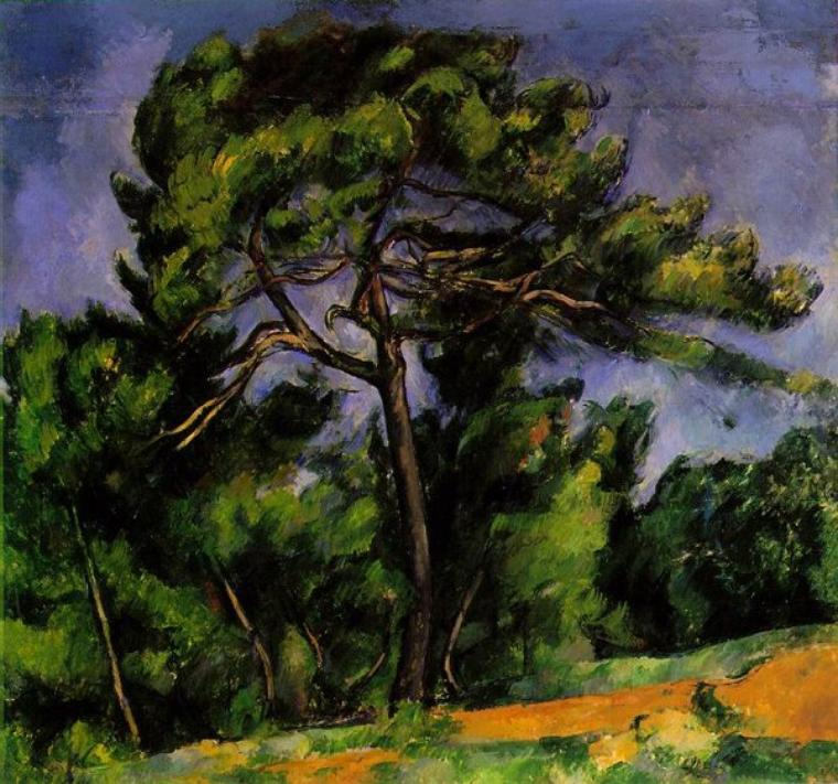 COUP  DE  COEUR  ...   Paul Cézanne  (1839-1906)  :  le grand pin