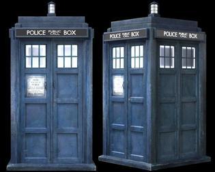recherche de lieu pour achat doctor who et cabine de police Londonienne!
