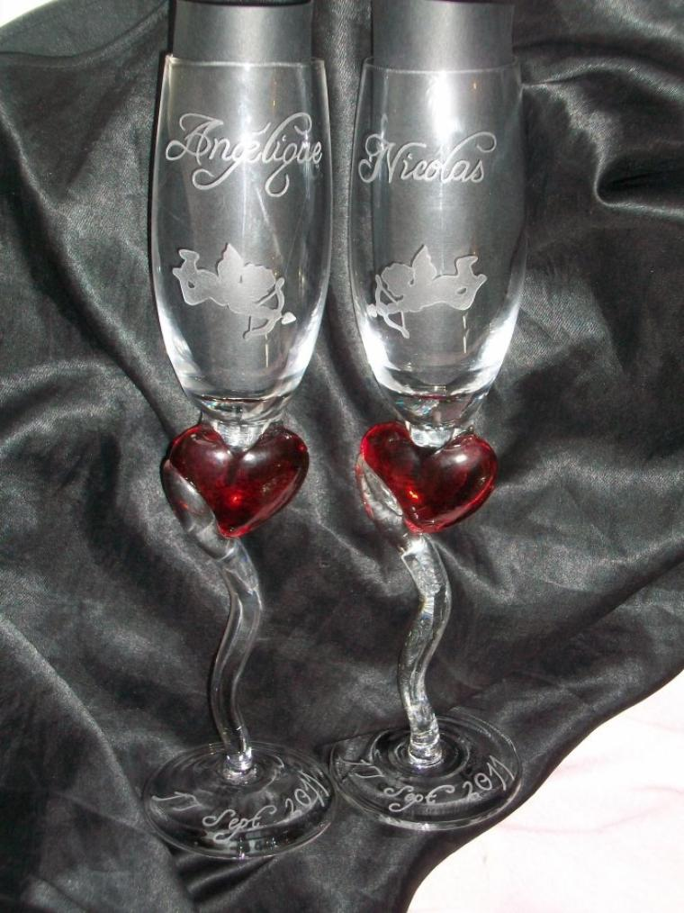 flutes mariage