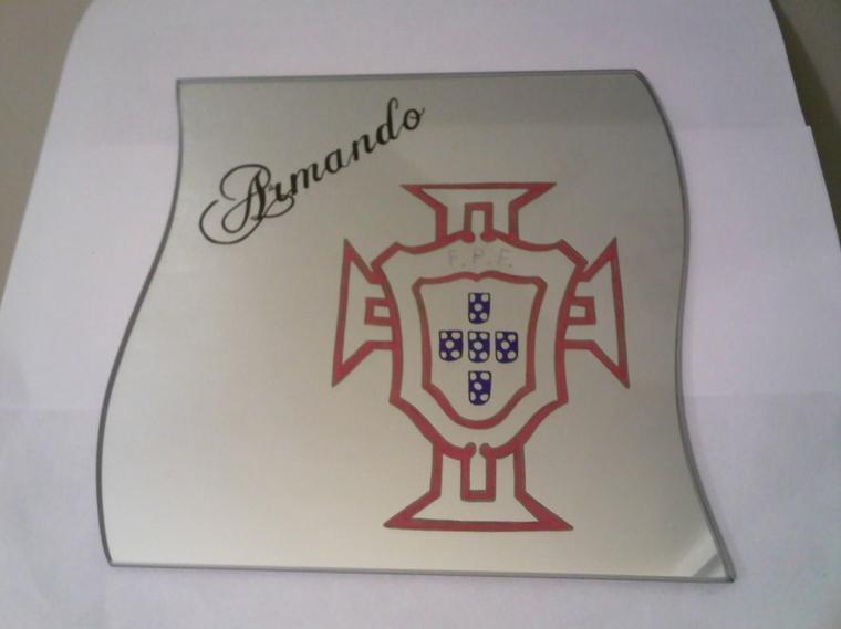 miroir gravé  portugal