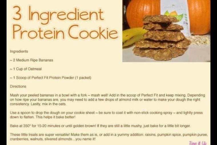 Cookie protéiné, menoum!