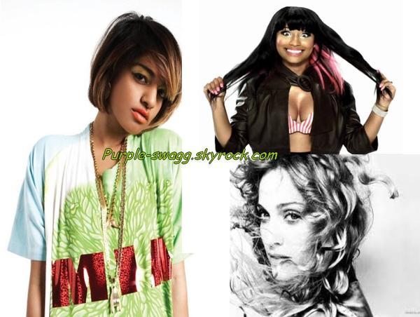 M.I.A & Madonna & Nicki Minaj