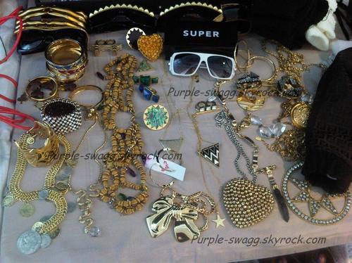 Quelques accessoires de Wiloh Smith