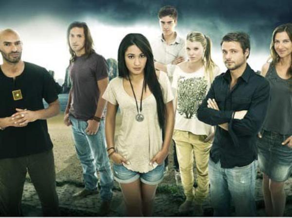 L'équipe de FOUDRE saison 5 .