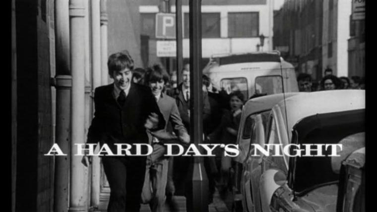 A Hard Day's Night. (le film)