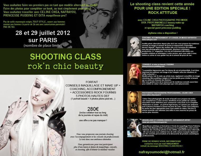 LE SHOOTING CLASS REVIENT SUR PARIS