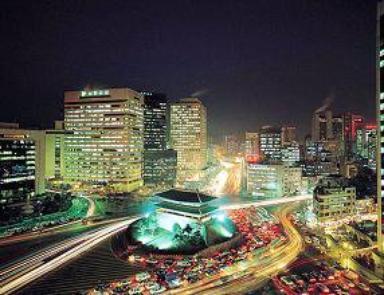 Seoul de nuit