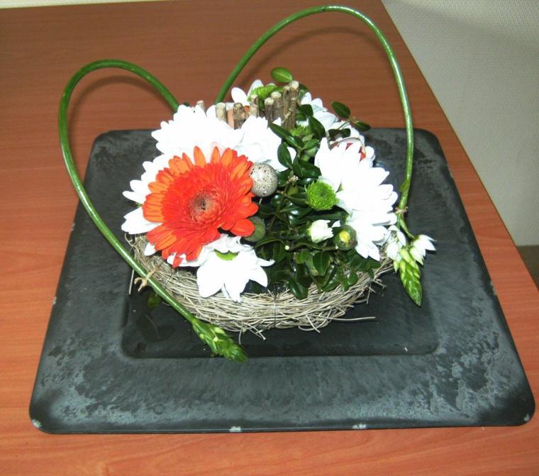 Atelier d'art floral avril  2012