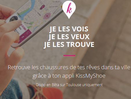 KissMyShoe : une application pour trouver chaussure à son pied