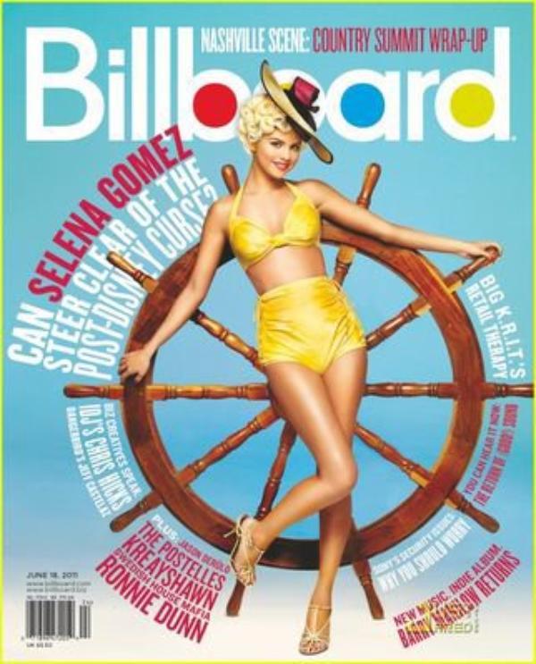 Scan de Billboard Magazine ou notre chouchoutte fait la couverture dans un still tres rétro tu en pense quoi ?