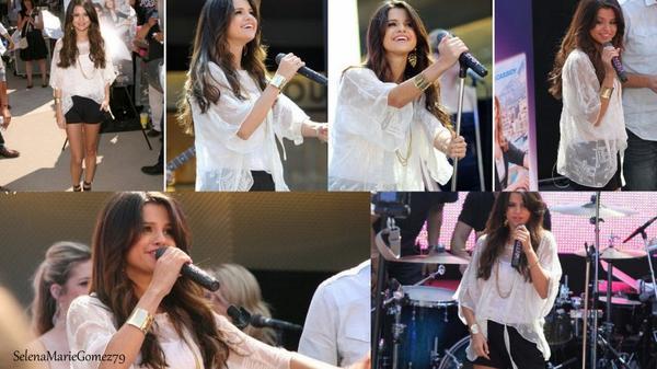 Selena va mieux et elle nous le prouve pendant son concert ! Vous la trouve comment vous ?