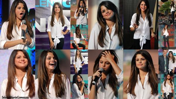 Selena continue à faire le tour des États-Unis afin de faire la promo de son prochain film « Monte Carlo« . Hier, elle se trouvait en Georgie où elle a répondu aux questions des fans .
