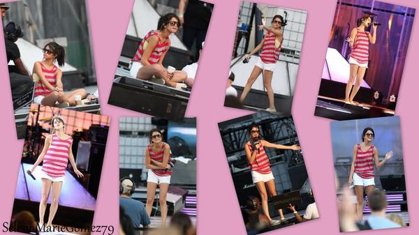 quelques photos de Selena Gomez se préparant pour les « Much Music Video Awards » !