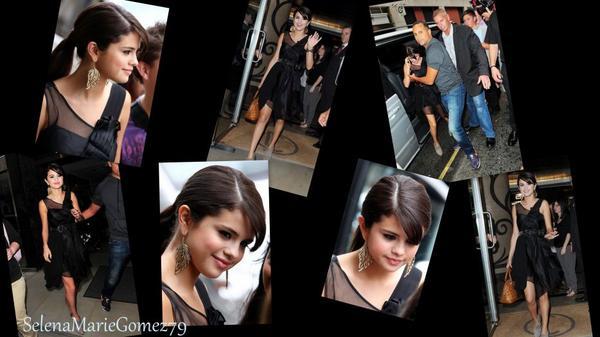 Selena a été vue Hier devant son hôtel à Londres.