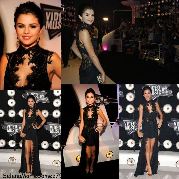 Selena était hier au MTV Video music award's