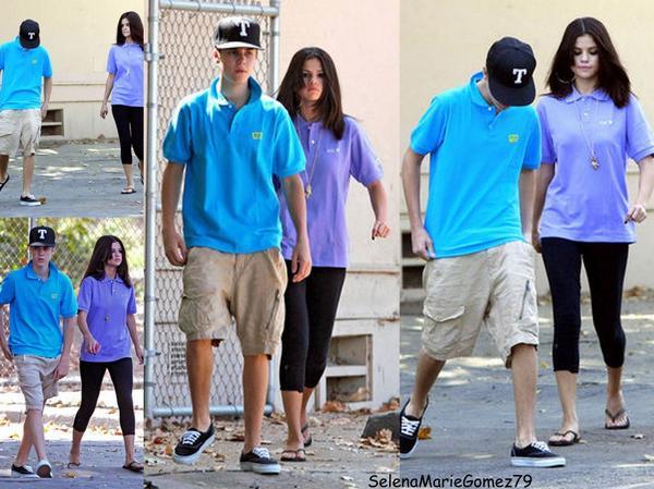 Le 21 septembre  Selena et Justin ont été vus au zoo à Los Angeles