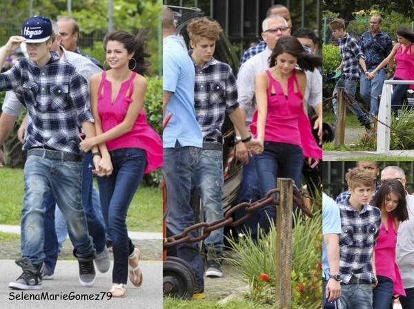 04/10 - Selena & Justin prennent un vol privé pour Rio de Janeiro