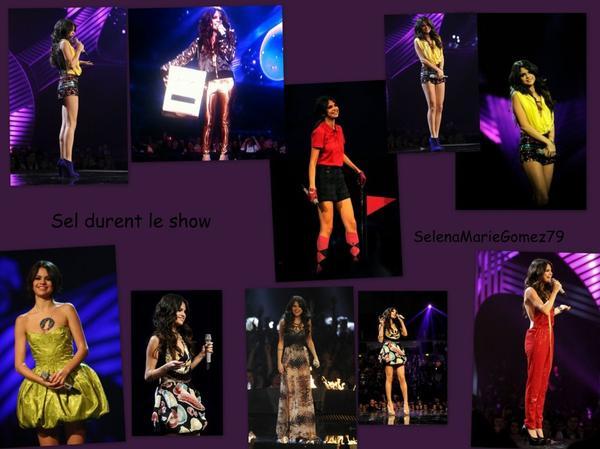 06/11 -Selena était au  MTV Europe Music Awards - Red Carpet