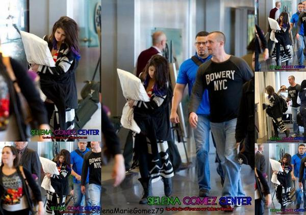Selena Gomez à l'aéroport de Las Vegas