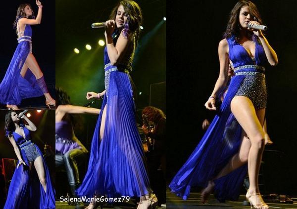 Selena Gomez & The Scene étaient en concert à Puerto Rico ce Dimanche 22 Janvier . Perso je trouve sel sublime et vous ?
