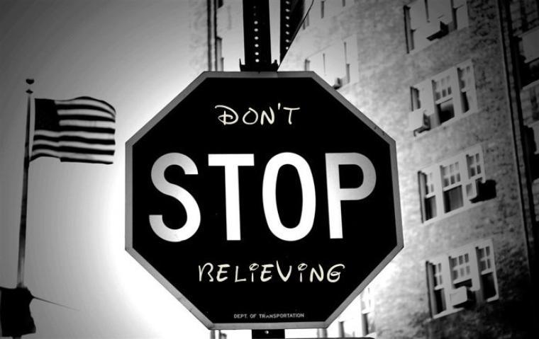 Don't stop dreaming !