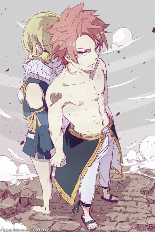 """""""Quand douleur et amour se mélangent."""" De FairyTail-Naluu [Fairy Tail]"""