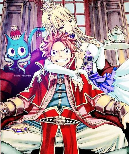 """La blonde au bois dormant"" De NaluxKawaii [Fairy Tail]"