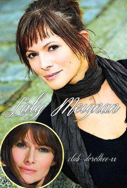 biographie : Laly Meignan as Laly