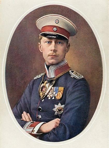 Le Kronprinz et Guillaume II