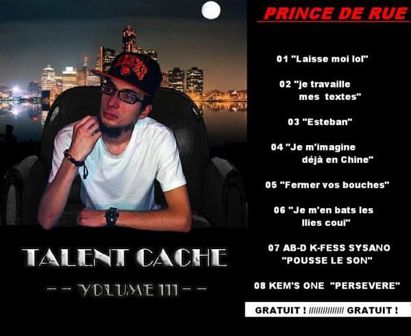 """TALENT CACHE VOLUME 3"""